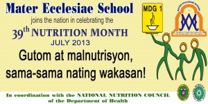 Nutrition month 2013 copy