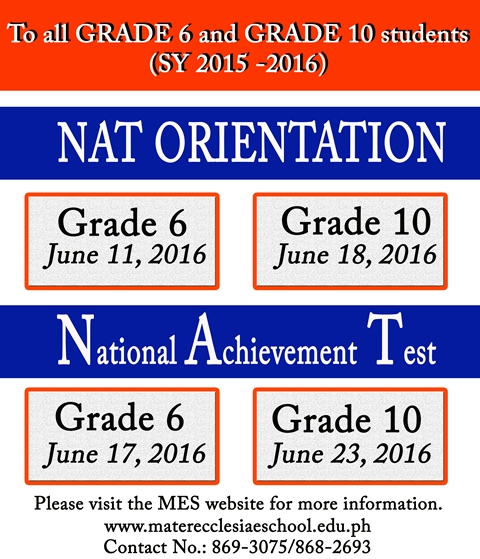 purpose of national achievement test